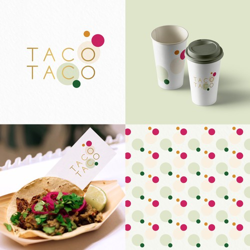 Fast food design with the title 'Taco Taco'