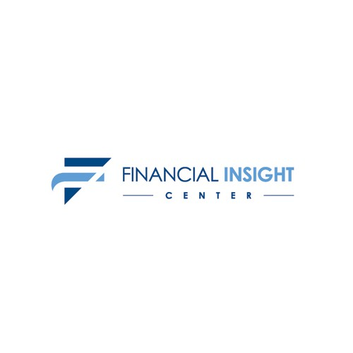 Consulting design with the title 'Financial Insight Center'