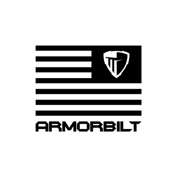 Shield t-shirt with the title 'Armorbilt'