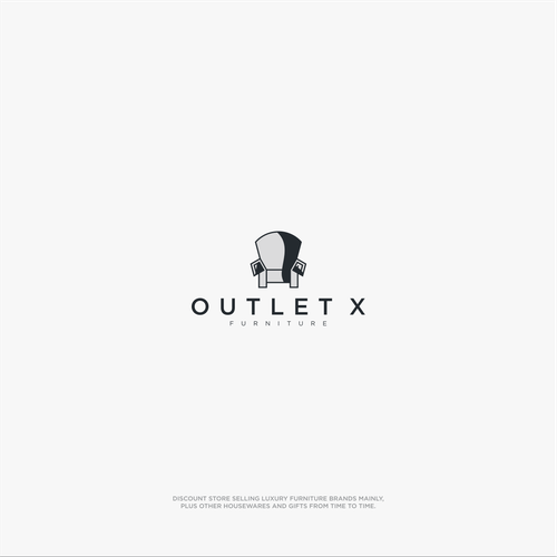 Outlet design with the title 'OUTLET X'