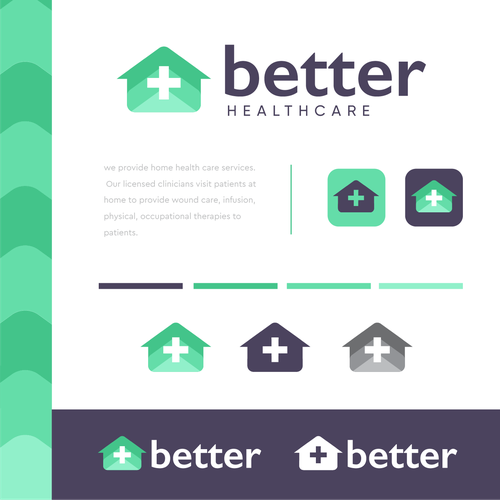 Mortgage logo with the title 'Better Healthcare'