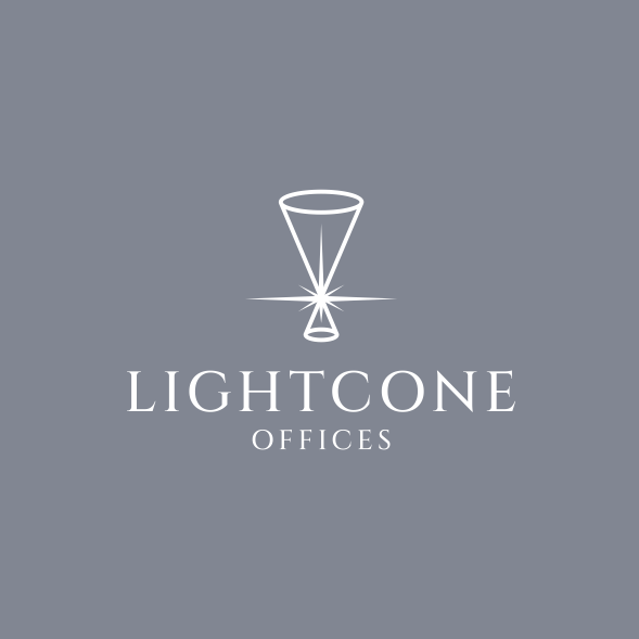 Office design with the title 'Lightcone Offices'