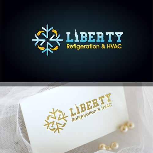 Liberty design with the title 'logo'
