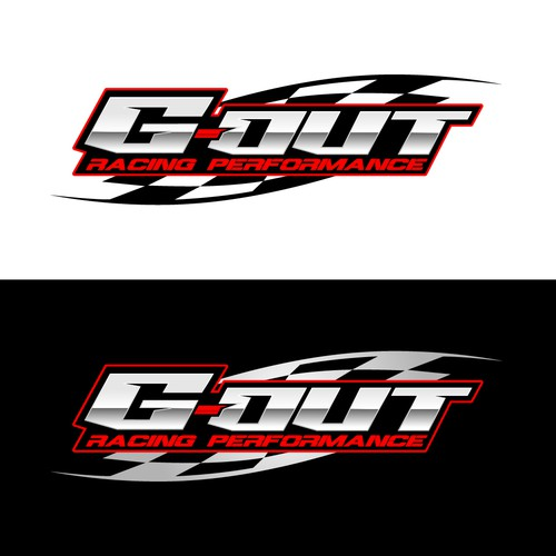 Motorsport design with the title 'Racing logo'