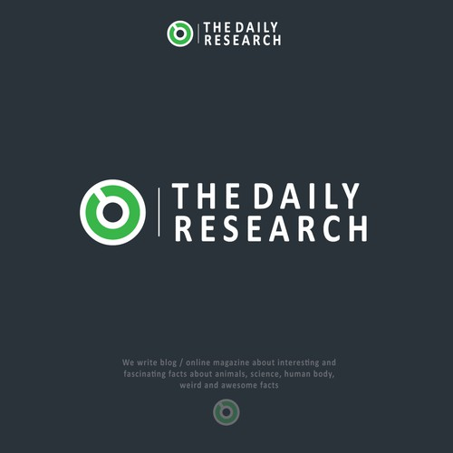 Daily logo with the title 'The daily research'