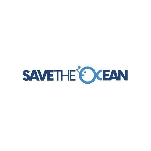 Save logo with the title 'Logo per una società che tutela gli oceani'