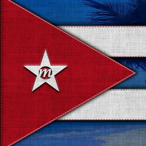 Wallpaper artwork with the title 'Cuba Libre Wallpaper for Maui OS'