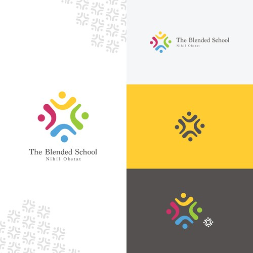 Universal design with the title 'Blended School'