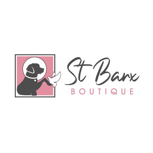 Saint design with the title 'St Barx Boutque'