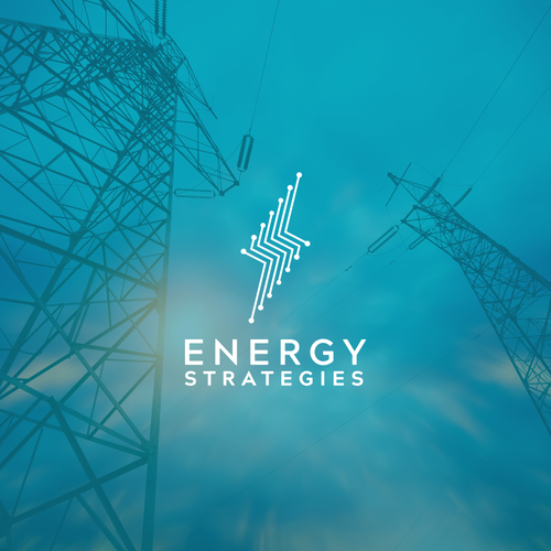 Technical design with the title 'Energy Strategies'