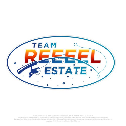 Stroke design with the title 'REEEEL ESTATE'