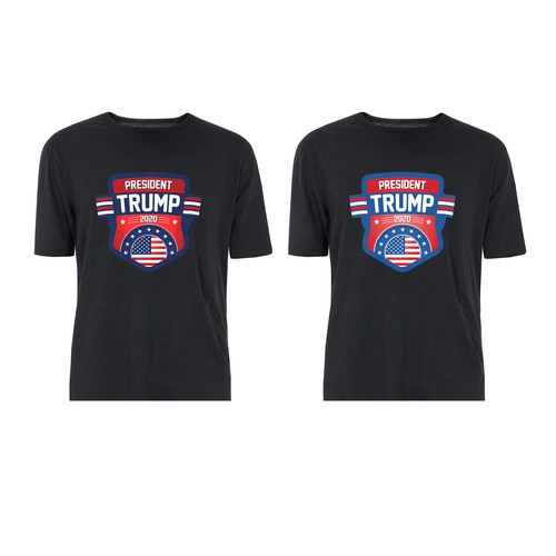 Trump t-shirt with the title 'T-Shirt Design'