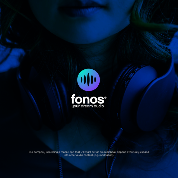 Soundwave logo with the title 'Fonos'