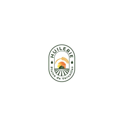 Paris logo with the title 'logo farm oil'