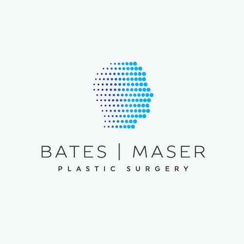 Head logo with the title 'Bates & Maser Plastic Surgery'