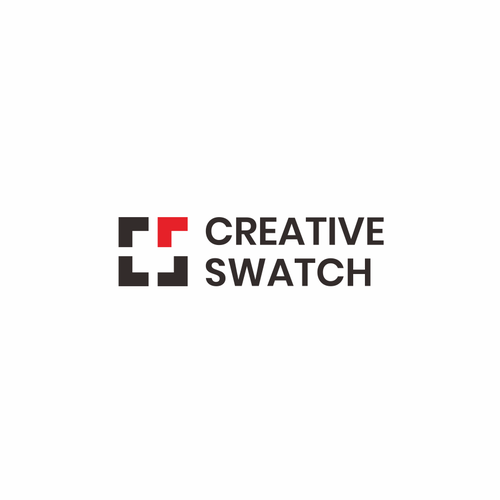 Meaningful design with the title 'Simplistic logo for creative IT company: Creative Swatch'