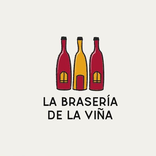 Restaurant design with the title 'Logo Design for Restaurant'