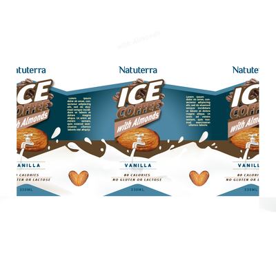 Packaging Design for Natuterra Almond Milk