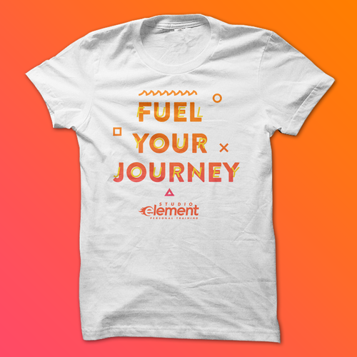 Slogan design with the title 'Studio Element | Fuel Your Journey'
