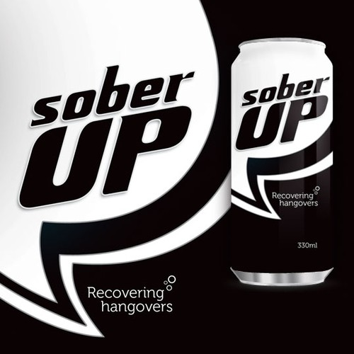 Impact design with the title 'Sober Up recovering'