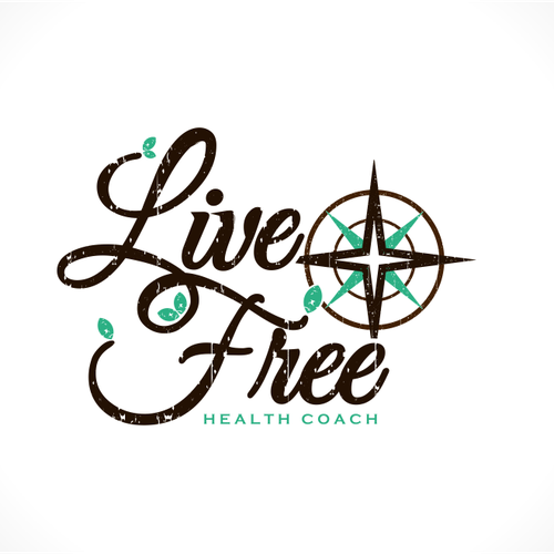 Compass logo with the title 'Pathway illustration for a Health Coach'