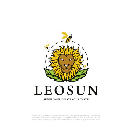 Lion head logo with the title 'LeoSun'