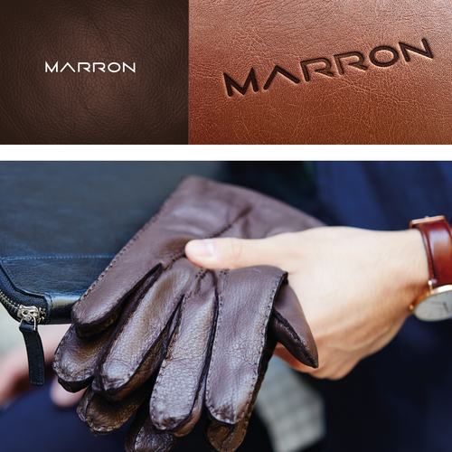 Accessories design with the title 'Marron'