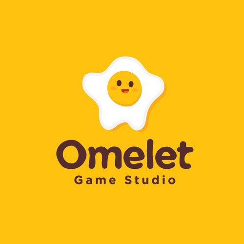 Egg logo with the title 'Omelet Game Studio'