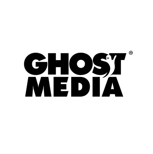 Internet logo with the title 'Ghost Media'