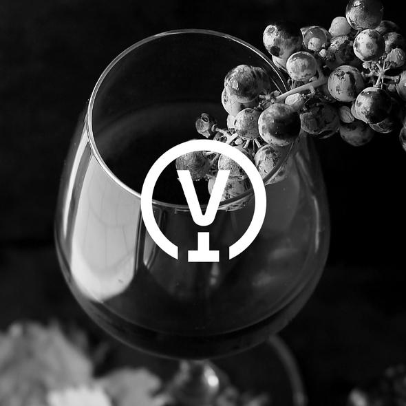 V design with the title 'VINOTECA'