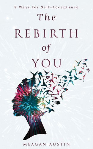 Modern book cover with the title 'The Rebirth of You'