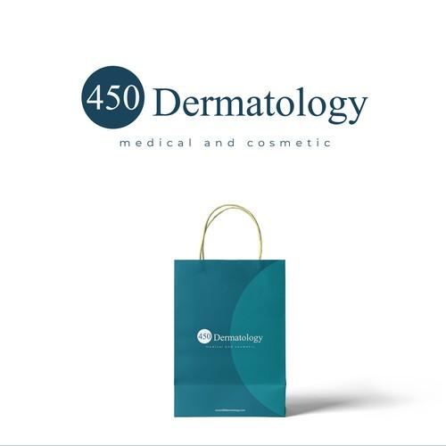 Dermatology logo with the title '450 Dertamotology'