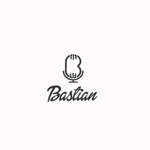 Singer logo with the title 'Bastian'