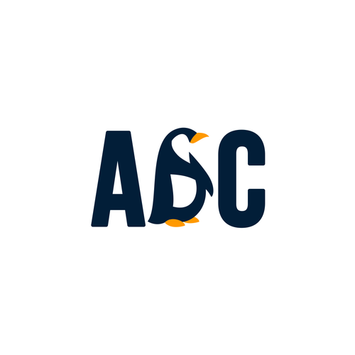 Fun brand with the title 'ABC penguin'