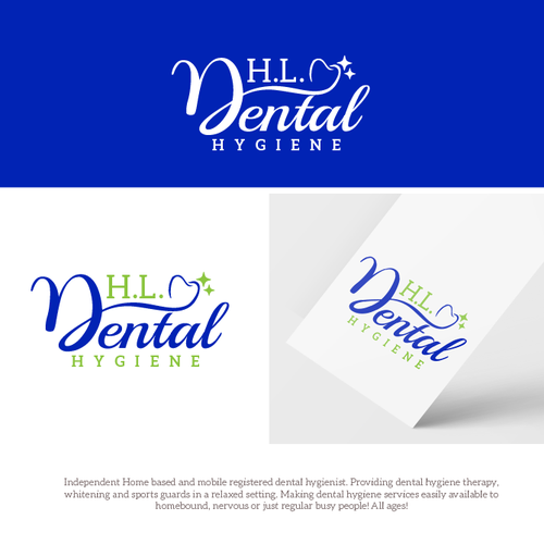 Care logo with the title 'HL Dental Hygiene'
