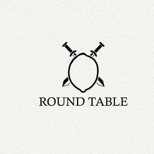 Table logo with the title ' Round table business'