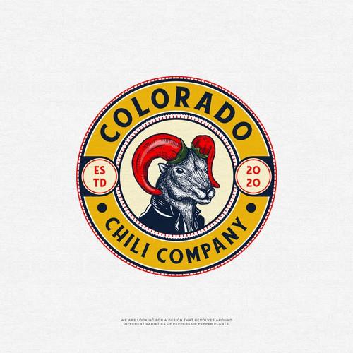 Colorado logo with the title 'Colorado Chili Company'