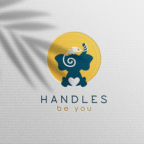 Cooperation logo with the title 'Can You HANDLE It? Cannabis Edibles and Social Media Platform Logo'