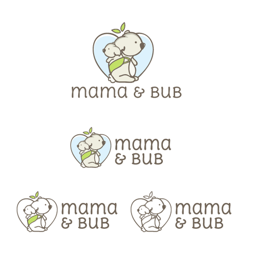 Mother's Day logo with the title 'Mama & Bub Baby Products'