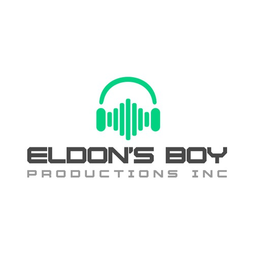 Producer logo with the title 'Logo voor audio producer'