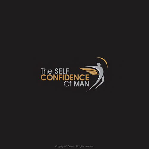 Dude logo with the title 'Logo concept for The Self Confidence Of Man'
