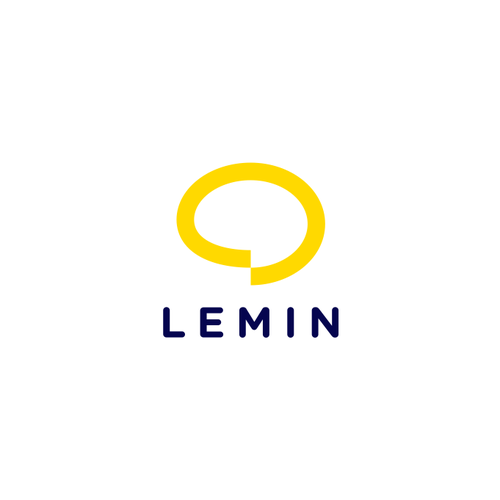 Lemon design with the title 'Logo for Lemin'
