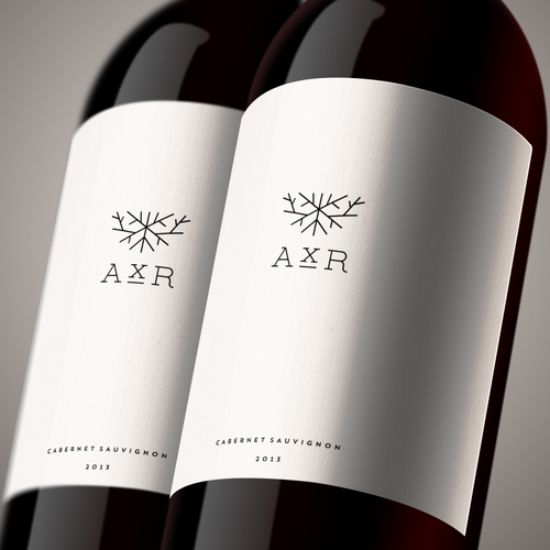 Cork logo with the title 'AxR Winery'