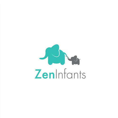 Baby logo with the title 'Design for online baby infant products business'