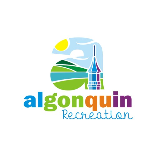 Government design with the title 'Algonquin Recreation'