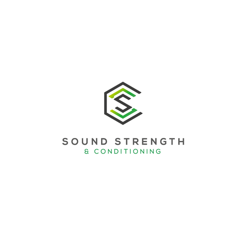 Love brand with the title 'simple and clean logo for health company. '