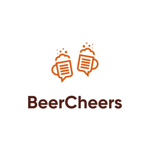 Talking design with the title 'Logo for BeerCheers'