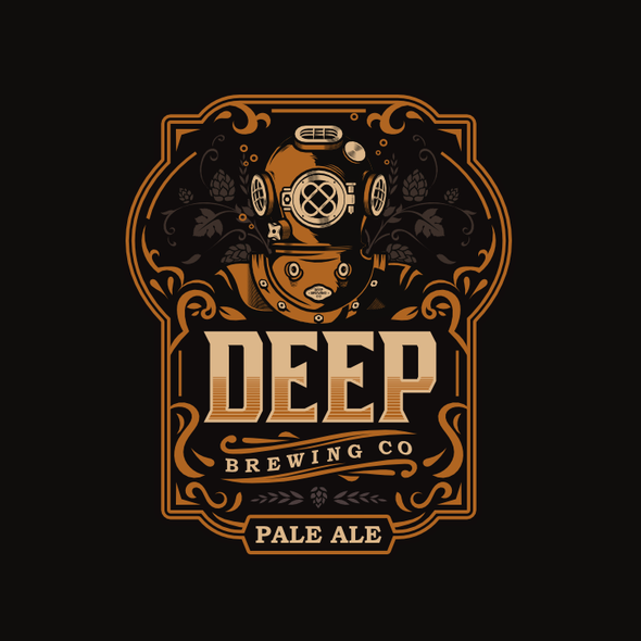 Deep logo with the title 'Deep Brewing Co.'