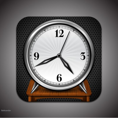 App Icon Design for The Big Clock