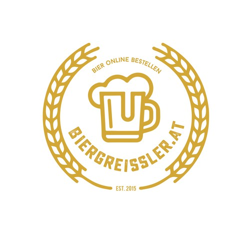 Barley logo with the title 'Biergereissler.at'